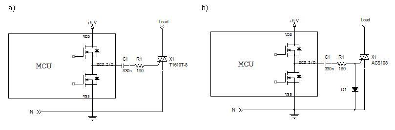 电源拓扑对输出极性的影响 如果使用正电源控制微控制器触发三象限双向可控硅、ACST或ACS,就会出现问题。如表1所示,在这种情况下不能实现直接控制。 此外,为符合能效标准对待机功耗的要求,常常使用开关式电源(SMPS)。正输出开关式电源的选择主要取决于降压转换器的选择,因为降压转换器是低输出电流离线转换器最常用拓扑。 在很多情况下只需要控制交流开关,所以可以考虑负电源。降压升压转换器支持负电压输出,而且拓扑的实现与降压转换器一样容易。此外,与降压转换器相比,降压升压转换器节省了输出负载电阻或输出齐纳二极管