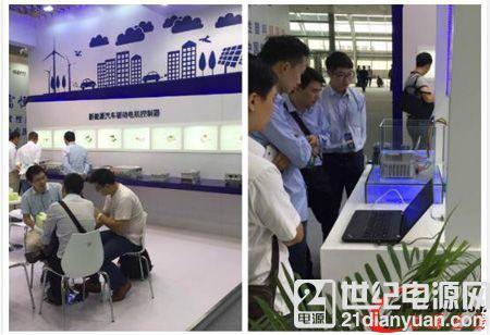 卓越驱动·低碳生活 英威腾闪耀亮相广州新能源车展