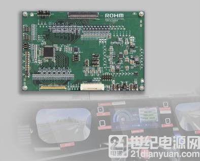 全球首发※!ROHM开发出面向高清液晶面板导入功能安全的车载芯片组 同时一并完善适用于车速表、后视镜的支持功能安全的产品阵容
