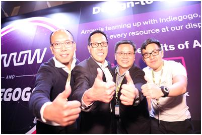 艾睿电子于深圳举办物联网创新展览会 促进香港初创企业与中国内地科技业界合作