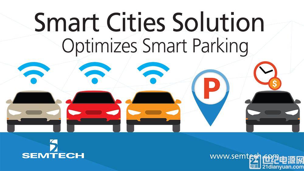 基于 Semtech LoRa 技术的智慧城市解决方案缓解交通拥堵