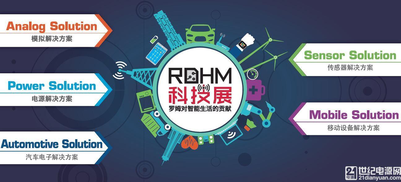 """2017 ROHM 科技展""举办在即,11月29日深圳站报名开启"