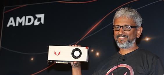 AMD 高级副总裁、RTG 负责人 Raja Koduri 辞职