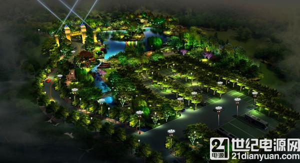 zigbee 核心板在智能景观灯中的应用