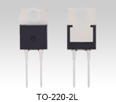 Expanded lineup of the second generation of SiC SBD products with a TO-220-2L package: TRS2E65F, TRS3E65F