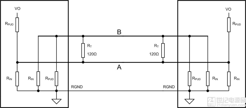 rs-485之信号反射与终端电阻