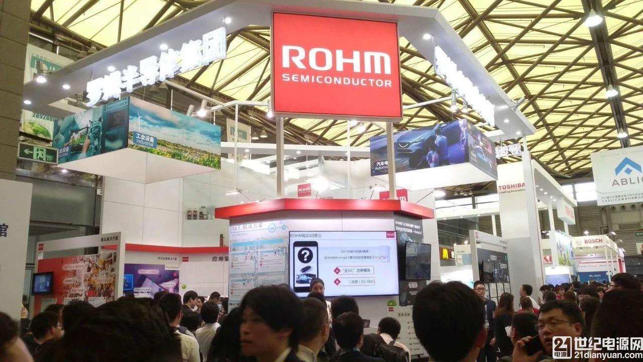"""罗姆汽车电子及工业设备市场产品点亮 """"2018慕尼黑上海电子展"""""""