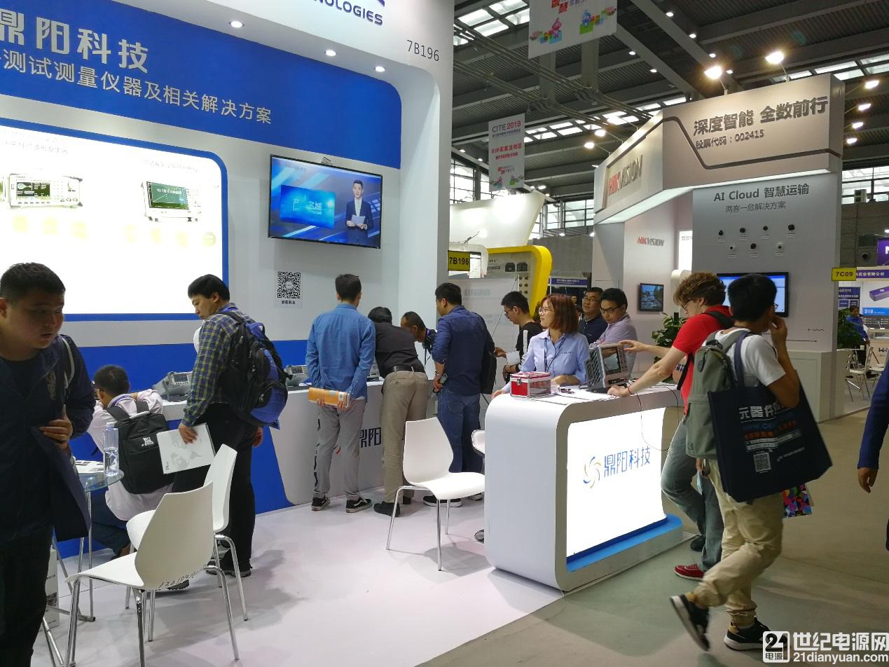 鼎阳科技亮相第91届中国电子展