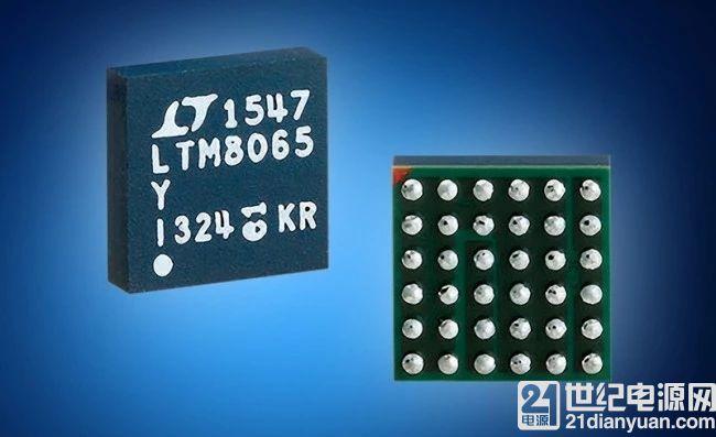 贸泽备货 Analog Devices LTM8065 µModule 稳压器采用 Silent Switcher 架构大幅降低EMI/EMC
