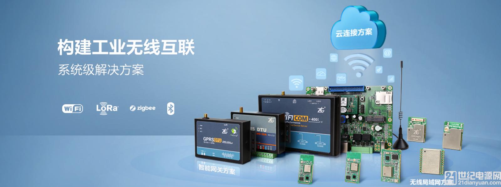 传统工业领域有线通讯的无线化应用