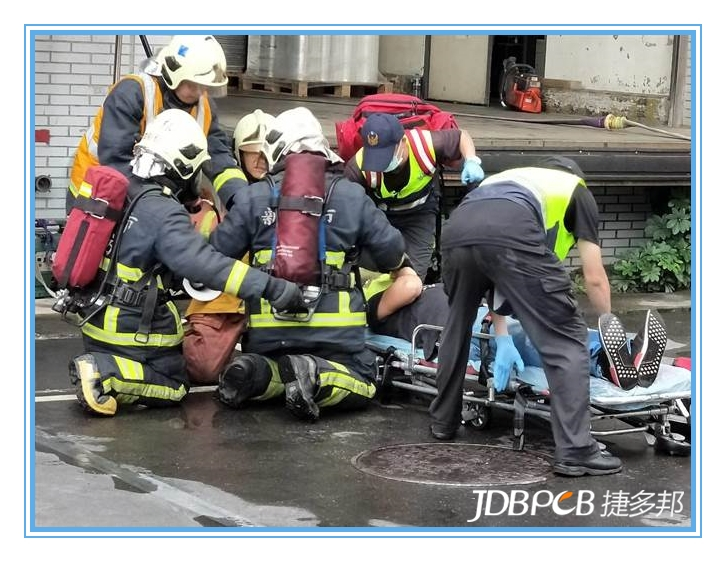 强化厂区自卫 新北PCB工厂开展消防演练
