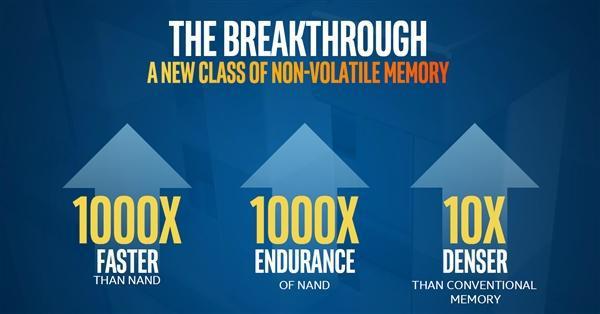 Intel美光将联手开发第二代3D Xpoint闪存芯片,明年问世