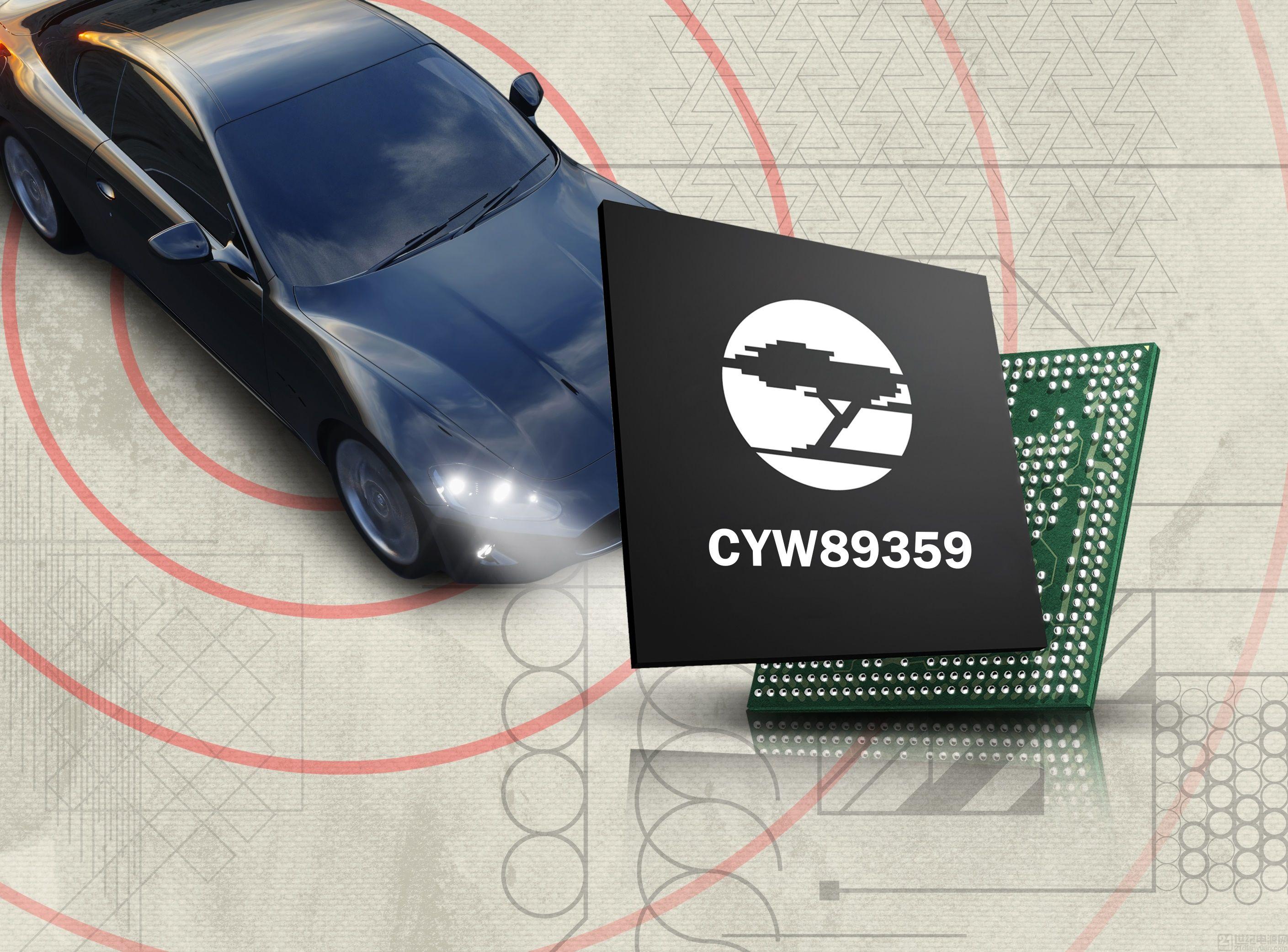日本先锋公司的车载信息娱乐系统采用赛普拉斯的Wi-Fi®和蓝牙®Combo解决方案