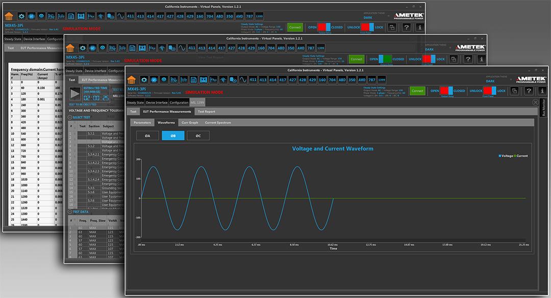 AMETEK程控电源部发布舰载动力测试软件选件------符合美国国防部的MIL-STD-1399-300B测试标准