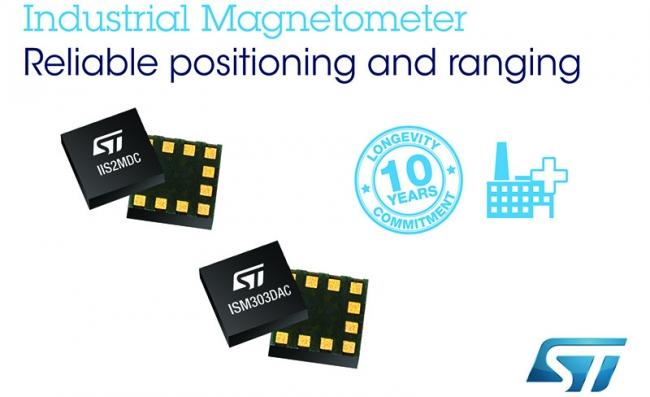 意法半导体推出工业磁强计和电子罗盘,提升智能电表篡改检测和精密运动感测性能