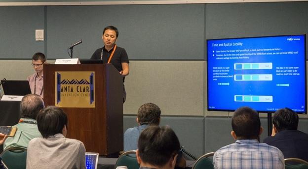联芸科技在2018美国闪存峰会分享最新的NAND DSP研究成果