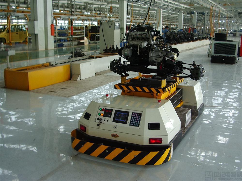 AGV小车如何实现无线通讯?