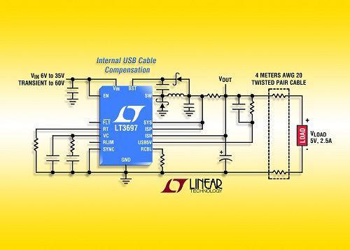 technology corporation)推出35v输入降压型开关稳压器(具有60v瞬态电