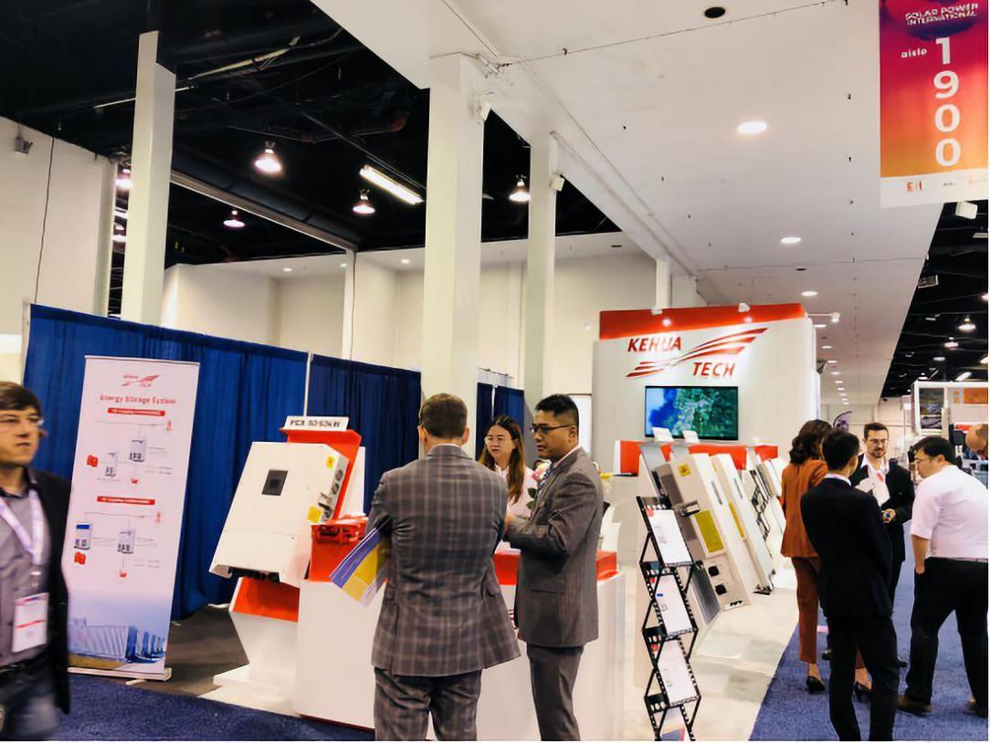 SPI2018   科华恒盛PV+ESS的美国·洛杉矶之旅