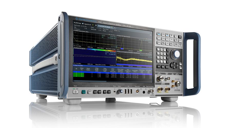 罗德与施瓦茨发布分析带宽更大和射频性能更强的全新R&S FSW系列