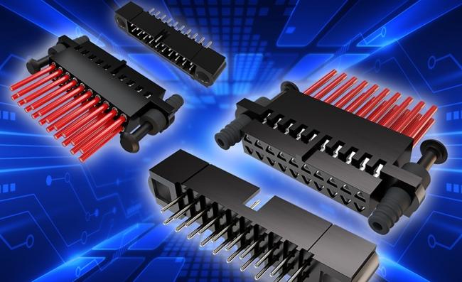 高性能 2mm 间距工业连接器可耐受较重振动和冲击