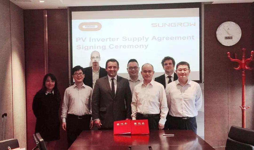 阳光电源携手法国布依格共建越南201MW光伏项目