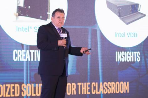 英特尔以边缘智能技术引领教育信息化发展