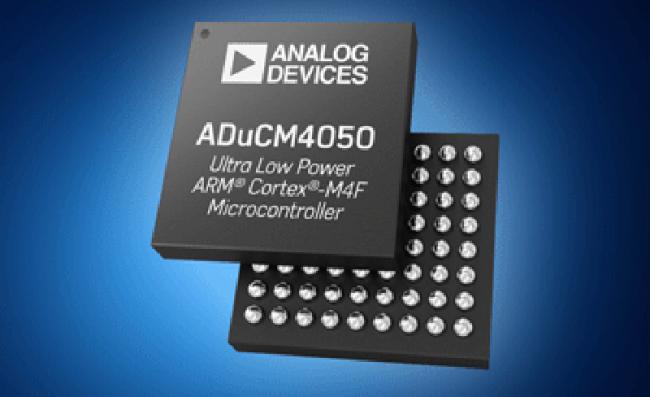 贸泽开售 Analog Devices ADuCM4050 微控制器 大幅提升物联网边缘节点省电效率