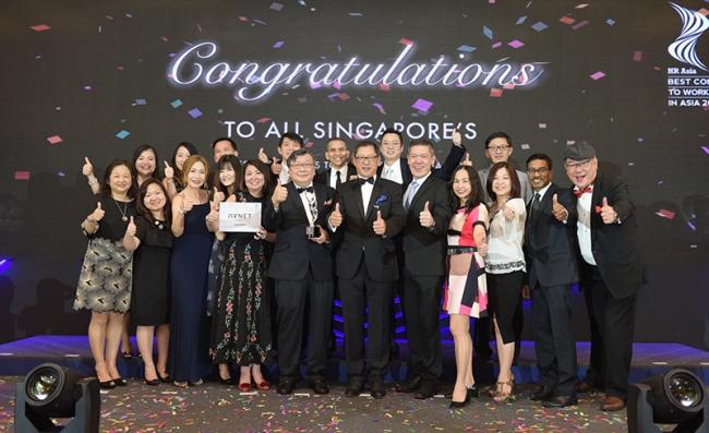 安富利被评选为亚洲最佳企业雇主之一