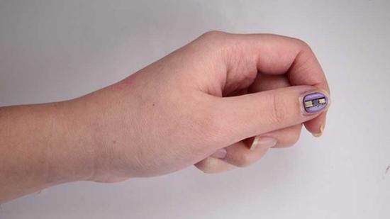 可用于医疗监测 美研发世界上最小的可穿戴式传感器
