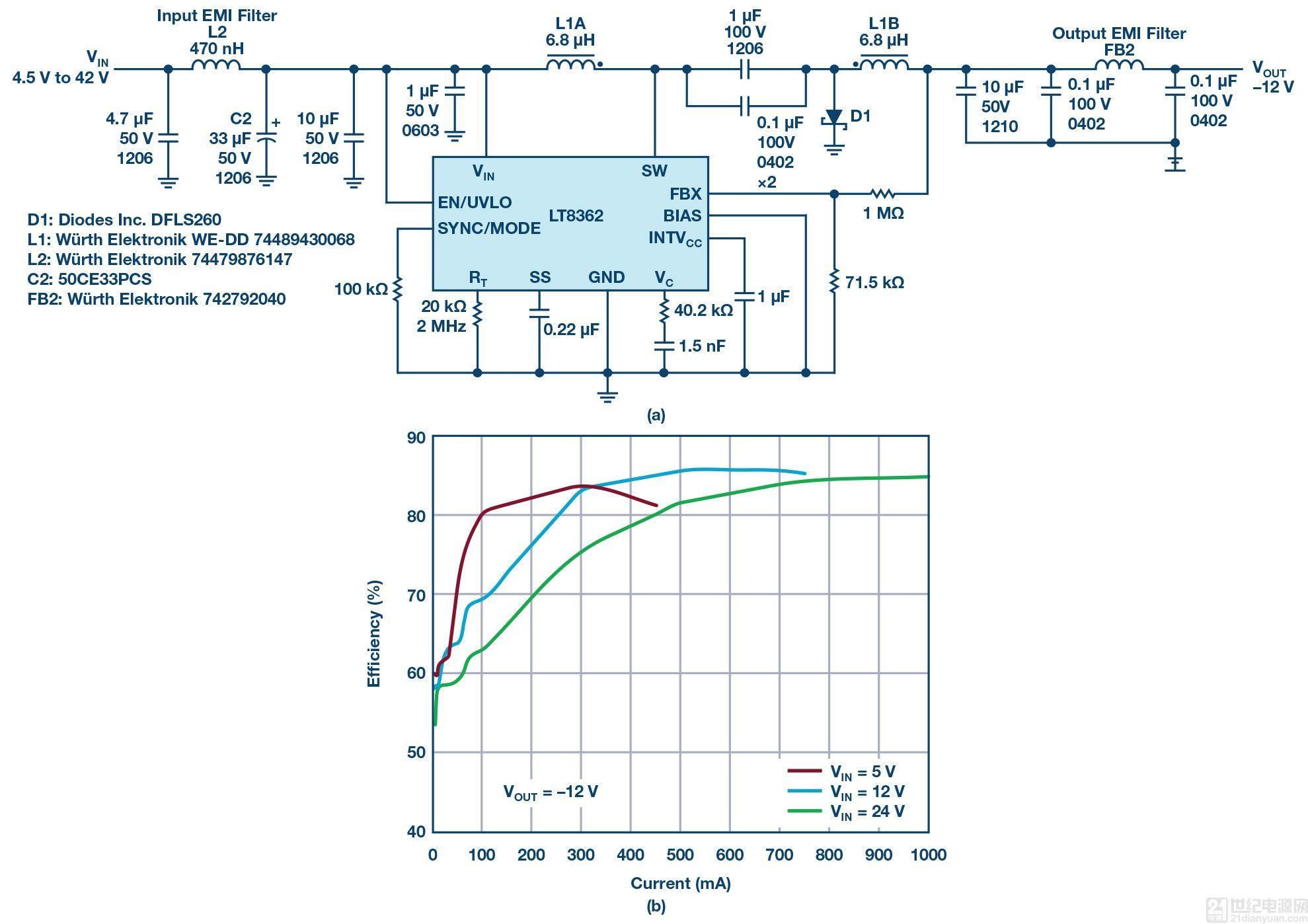 温度频率转换电路