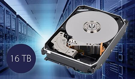 东芝发布 16TB MG08 系列硬盘