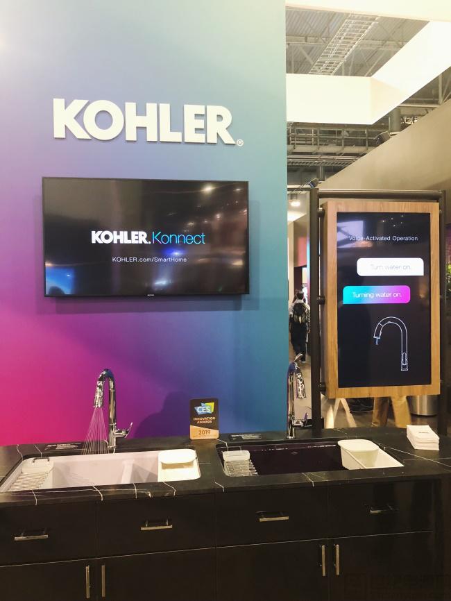 CES 2019:科勒携全新云境智能厨卫系统展示未来智能生活