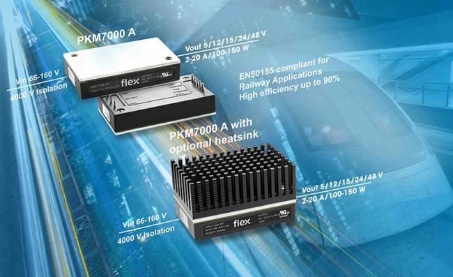 Flex 电源模块扩大产品组合,以满足工业和铁路行业不断增长的需求