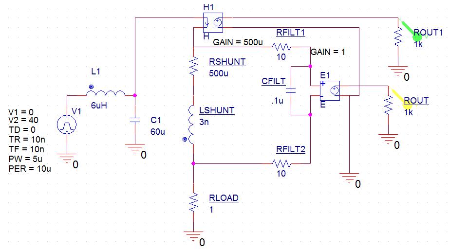 """正弦波纹波在并联电阻有足够的分流电感时确实会变成三角波形。放大器最初有一个正弦波输出,因为设计人员明智地在放大器输入处使用了一个低通滤波器,但是它没有被正确地""""调整""""。在这种情况下,需要调整的有电容值,直到纹波符合正确的计算值。实际应用中的分流问题是,由于电感规格的不确定,它们不遵守规则的分析方法。您可能会在数据表中看到""""0."""