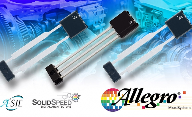 Allegro MicroSystems 推出最先进的变速箱速度传感器 IC