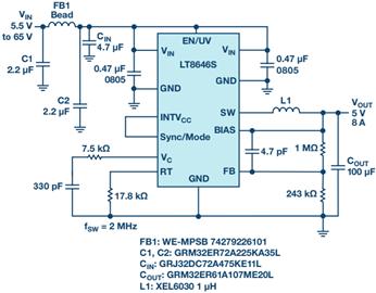 因此,emi 性能对电路板布局是不敏感的,从而在那些要求超低 emi 的