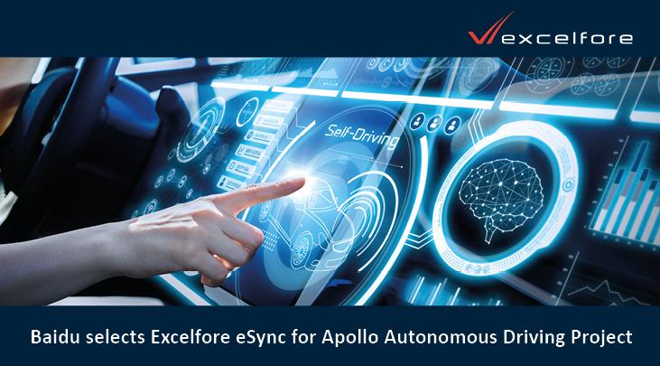 Excelfore eSync 平台获选参与百度...