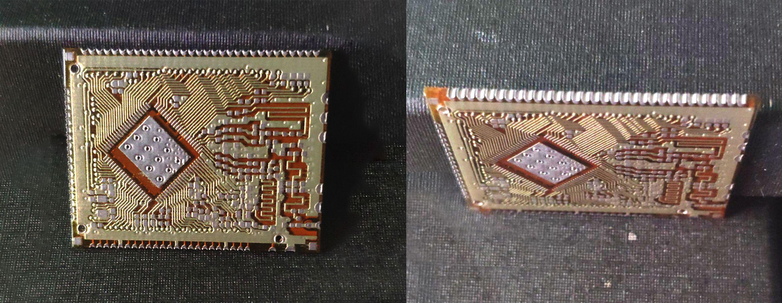 Nano Dimension 3D 打印电路板侧装技术