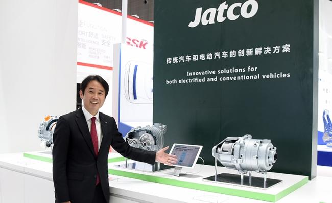 CVT 全球第一的加特可携 e-Axle 概念机型现身上海车展