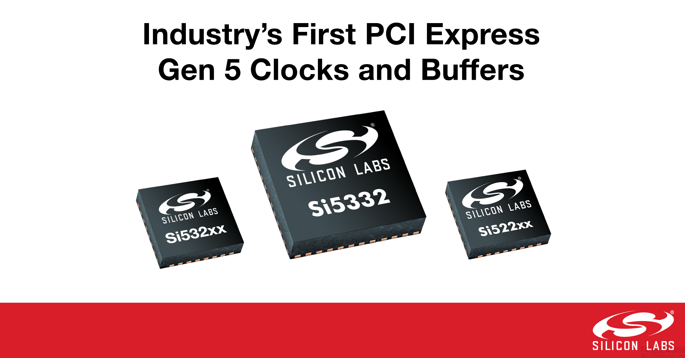 业界首家性能和功耗领先的 PCI Express Gen 5 时钟和缓冲器