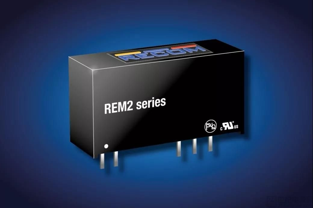 RECOM 推出用于高端医疗设备的 2W DC/DC 转换器