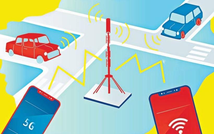 自动驾驶汽车竞争的关键一项,是 Wi-Fi 和 5G 的较量