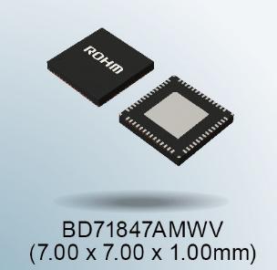 """罗姆推出适用于恩智浦 """"i.MX 8M Mini 系列"""" 处理器的电源管理 IC"""
