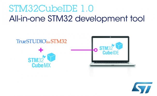 意法半导体发布免费集成开发环境,进一步扩大 STM32Cube 微控制器生态圈