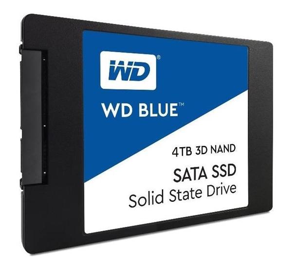 全球唯二:西数蓝盘 SSD 扩容 4TB 每天 0.08 次全盘写入