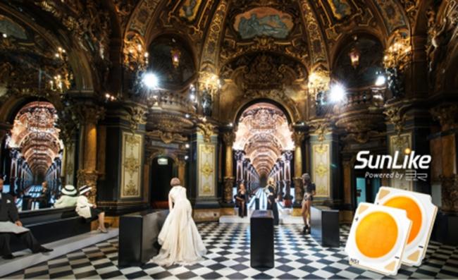 """首尔半导体的自然光 LED """"SunLike"""" 被应用于巴黎格雷万蜡像馆照明系统"""