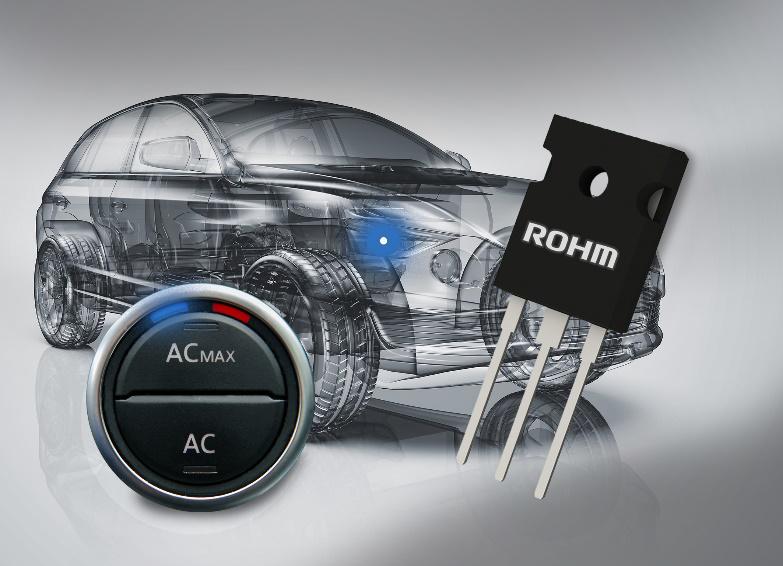 "ROHM 开发出满足 AEC-Q101 标准的车载用 1200V 耐压 IGBT""RGS 系列"""