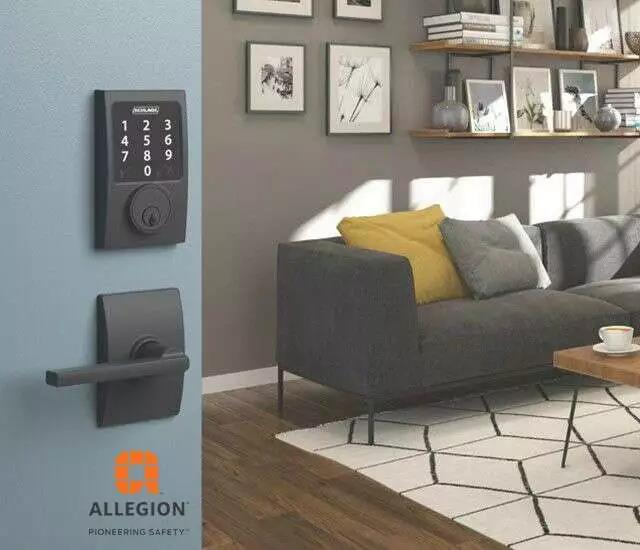 Allegion 通过 EFR32 平台提升家居和楼宇安全