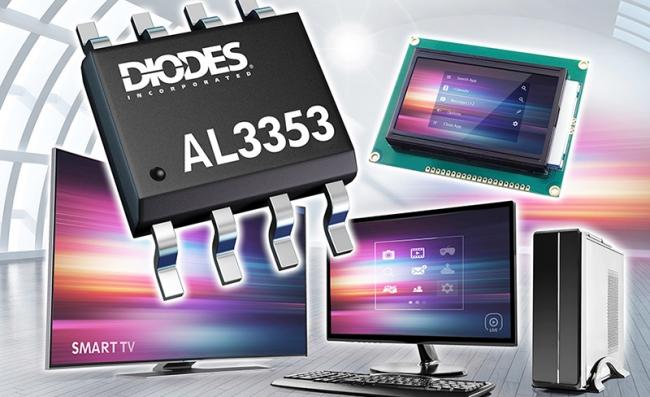 Diodes 公司 LED/LCD 產品應用的多功能升壓控制器提供 1~100% 調光范圍